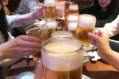 20代 男性 若白髪 飲酒
