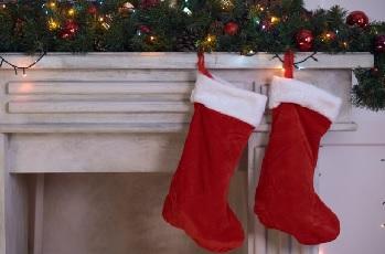 サンタクロース 靴下