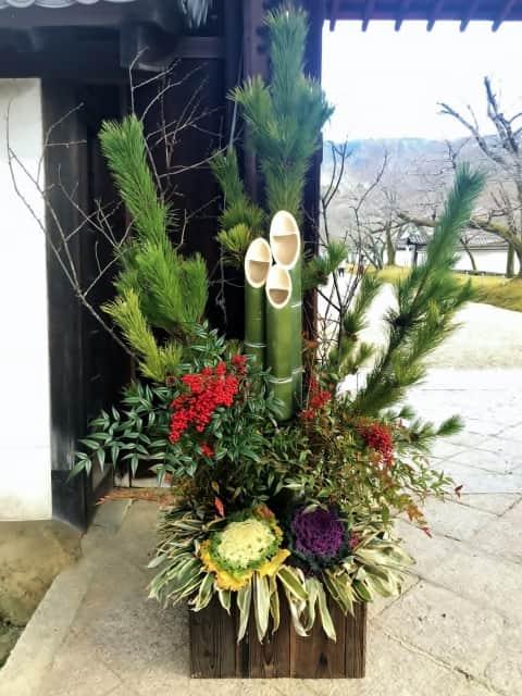 牡丹 正月 飾る 場所 門松