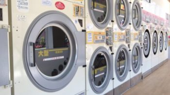洗濯物 生乾き コインランドリー