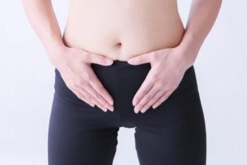 女性 ぽっこり下腹 胃下垂