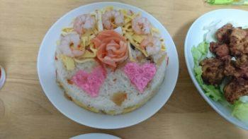 ひな祭り ちらしケーキ レシピ