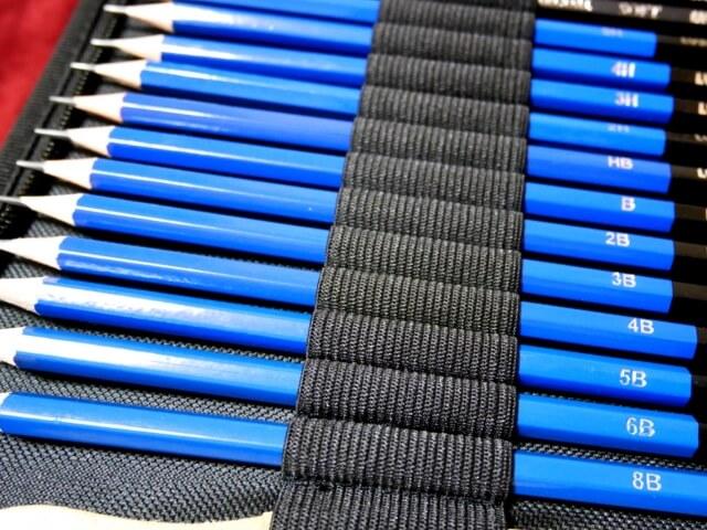 鉛筆 濃さ 順番 種類
