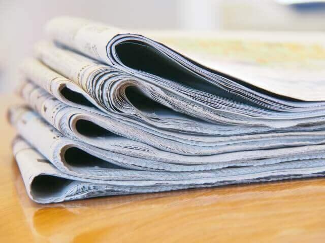 灯油 こぼした 玄関 新聞紙