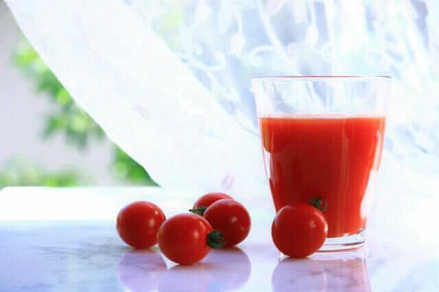 トマト ミニトマト 違い リコピン