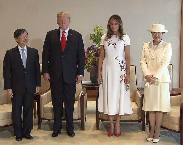 トランプ大統領夫妻 天皇皇后両陛下 プレゼント交換