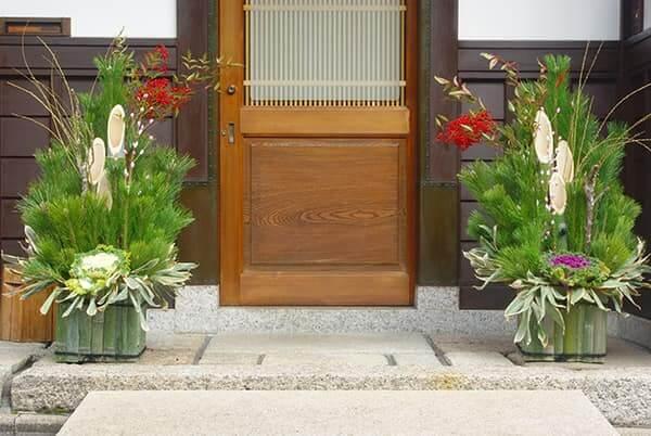 門松 飾り方 玄関 戸建て