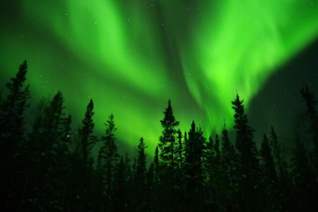 冬至 北極圏 極夜