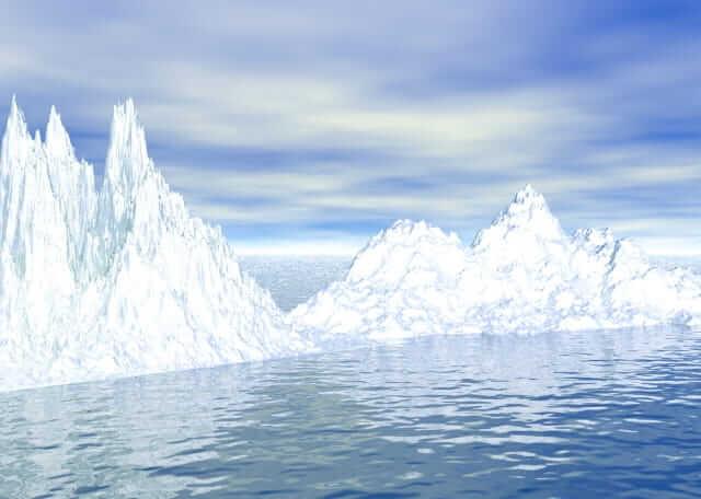 冬至 南極 白夜