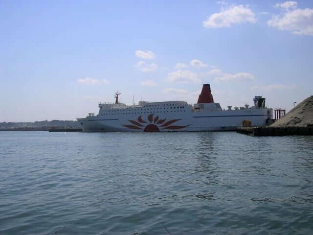 常磐神社 近い 初日の出 スポット 大洗港