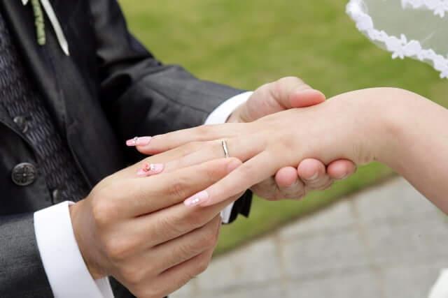 天恩日 入籍 結婚式