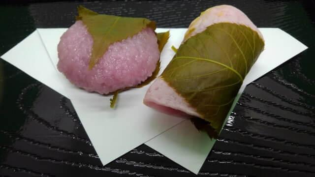 立春 桜餅