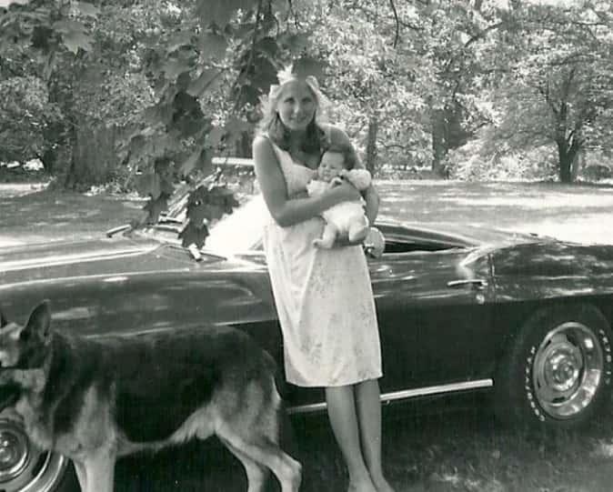 ジル・バイデン アシュリー出産後 画像