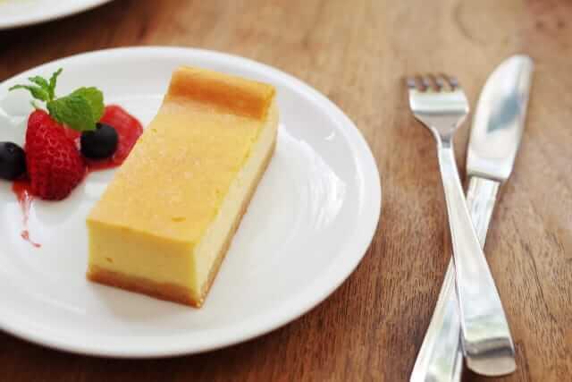 フランス語 ベイクドチーズケーキ