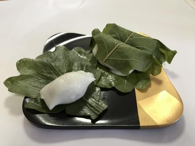 柏餅 葉っぱ 意味 乾燥防止