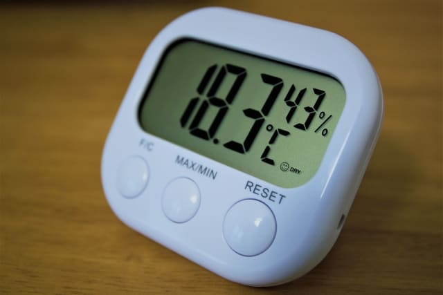 温度計と湿度計
