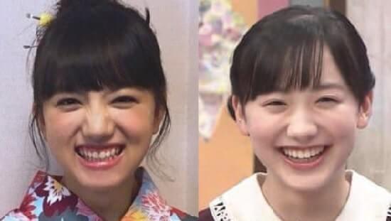 清原果耶 芦田愛菜 笑顔 似てる