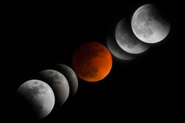 皆既月食 2021 ピーク 時間