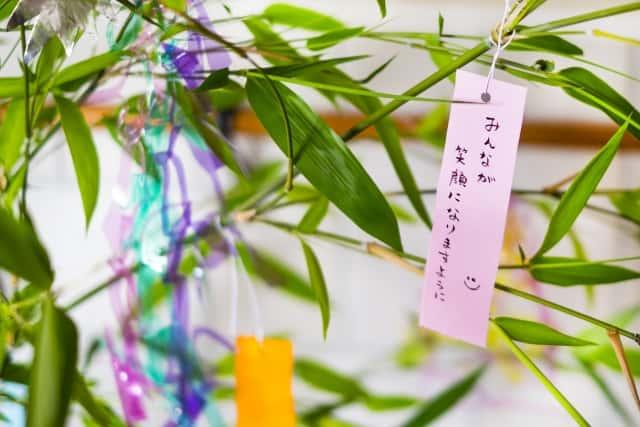 七夕飾り 処分方法 行事 神社