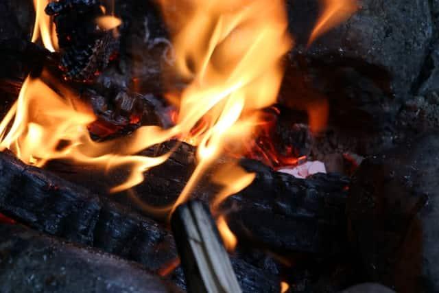 七夕飾り 処分 庭 燃やす
