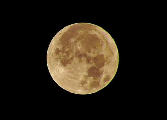 中秋の名月 時間