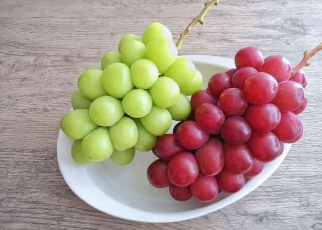 中秋の名月 十五夜 食べ物 果物