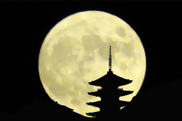 中秋の名月 満月とは限らない
