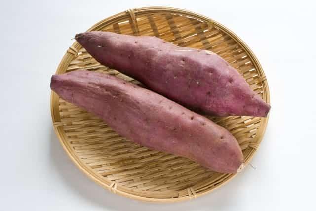 中秋の名月 十五夜 食べ物 サツマイモ
