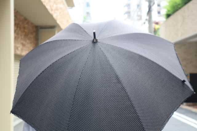 黒 日傘 効果