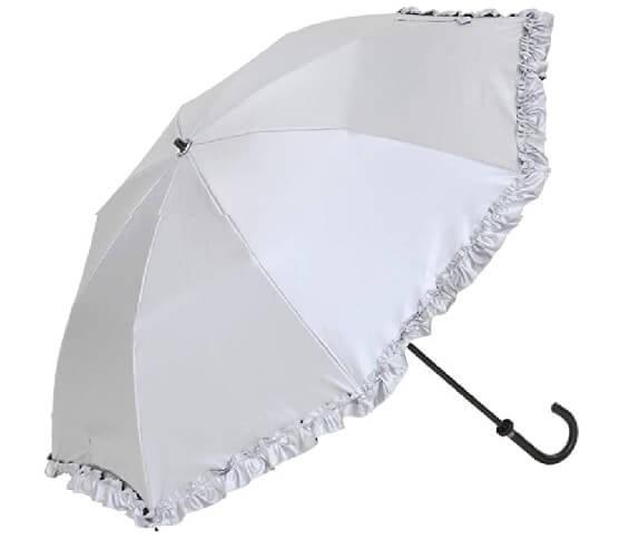 日傘 シルバー 白と同じ効果 迷惑