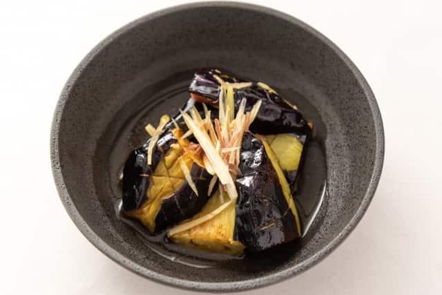 重陽の節句 食べ物 茄子の煮浸し