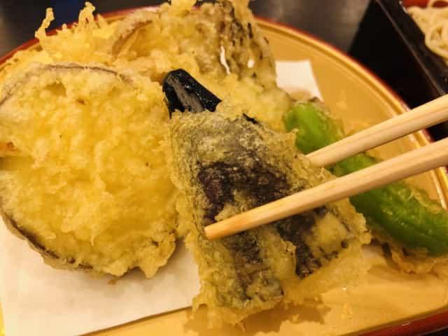 重陽の節句 食べ物 茄子の天ぷら