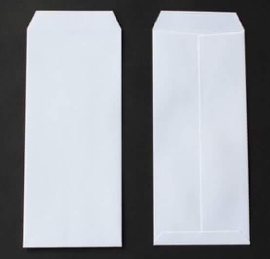 初盆 提灯代 入れる袋 白封筒